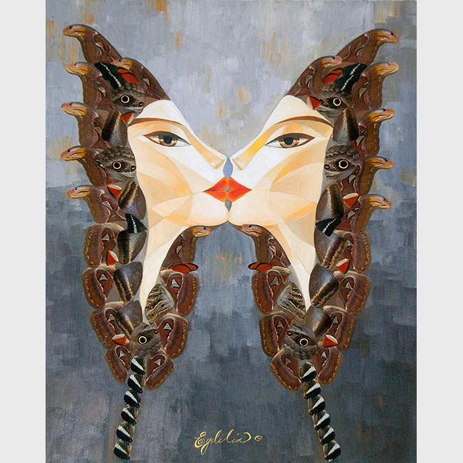 BUTTERFLY KISS: ATLAS ATTACUS